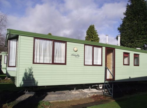 Static Caravan Sited Holiday Home For Sale Riverbend SY21 0PP WALES