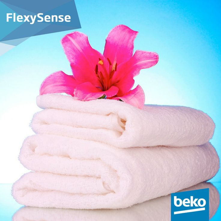The FlexySense sensors save you from having to guess drying time by allowing you to choose the desired dryness level.The moisture sensor also makes sure that the laundry is evenly dried. Learn more about our clothes dryers smart solutions: http://bit.ly/1jPVQJE #beko #laundry #bekosmartsolutions #clothesdryer #flexysense
