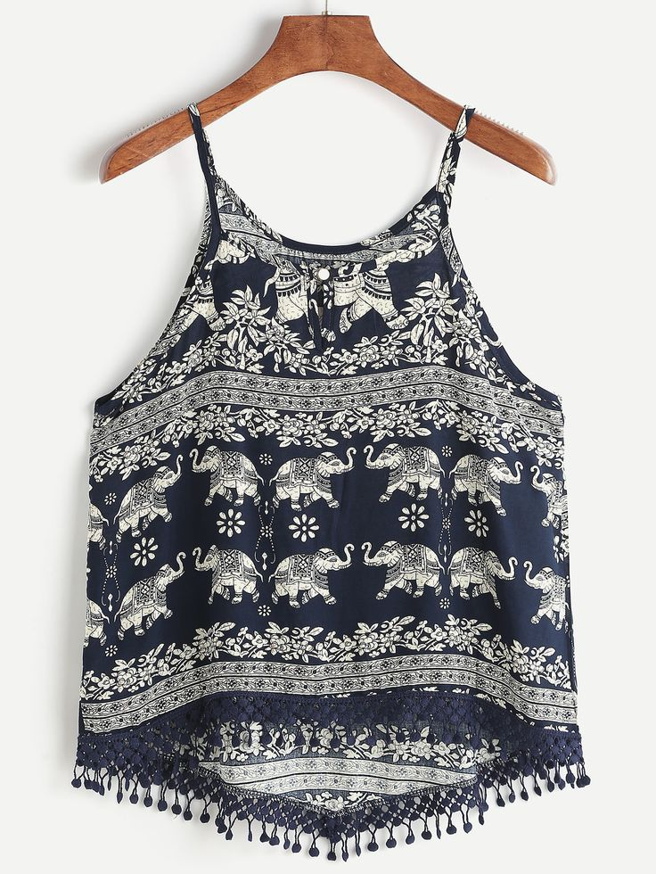 Shop Aztec Print Crochet Lace Trim Dip Hem Cami Top online. SheIn offers Aztec Print Crochet Lace Trim Dip Hem Cami Top & more to fit your fashionable needs.