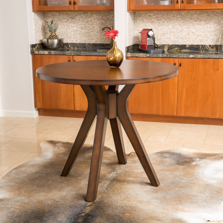 Tehama Round Counter Height Wood Mid century Style Dining Table  Only  by  Christopher. Best 20  Round wood dining table ideas on Pinterest   Round dining