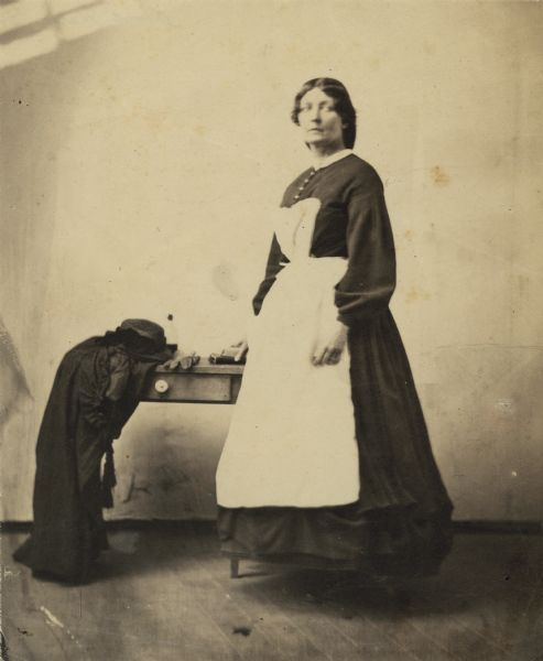 Harriet Douglas Whetten, Civil War nurse (1860) Wisconsin...