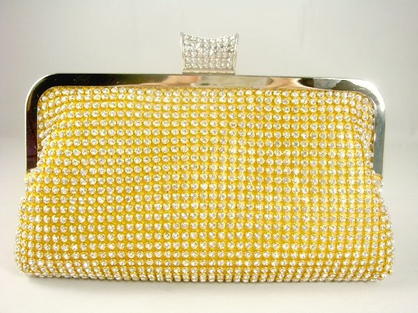 Statement Clutch - Silver Gold Clutch by VIDA VIDA chcwsko