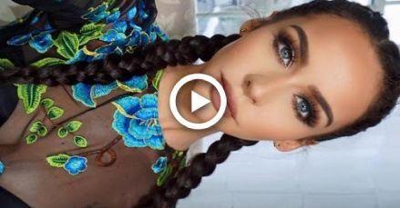 How To: Dutch/French Braid Your Own Hair | Carli B…