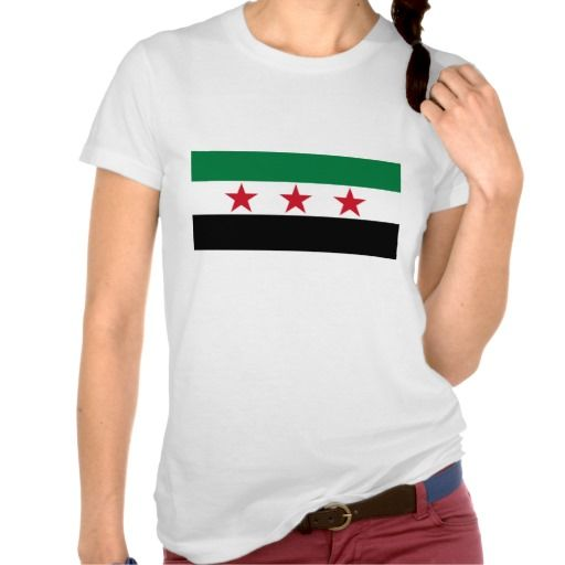 Syria Flag T-shirts
