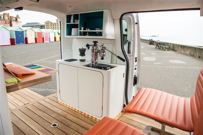 Nissan e-NV200 WORKSPACe all-electric mobile office concept   Parkers