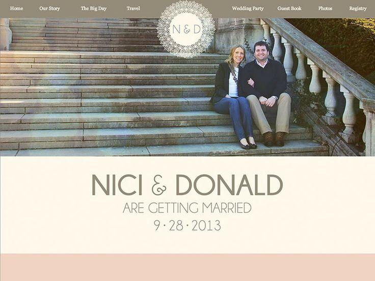 24 best Wedding Websites images on Pinterest