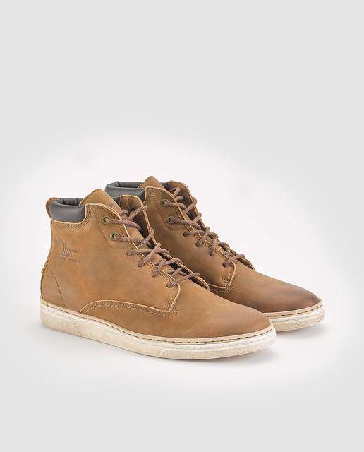 Botas de hombre Panama Jack de napa en color marrón