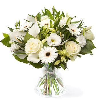 Spierwit boeket #bloemen