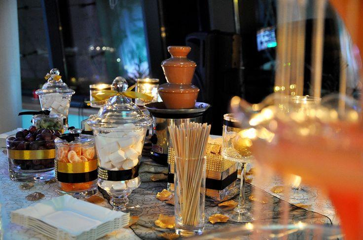 Fontanna czekoladowa impreza firmowa  Impreza firmowa Nosalowy Dwór Resort & SPA Zakopane wykonanie www.fabrykaslubu.pl #fontannaczekoladowa #fontannaalkoholowa
