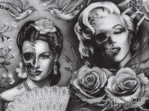 Steve Soto, Goodfellas Tattoo<br> Anaheim, CA<br> www.myspace.com/stevesototattooart