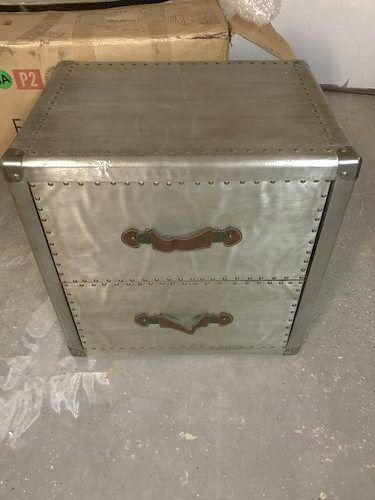 New in box, trunk end table, nightstand   ksl.com