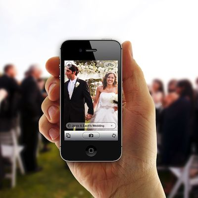 Here's another cool app for your guests to share their photos during and after your wedding: Capsule