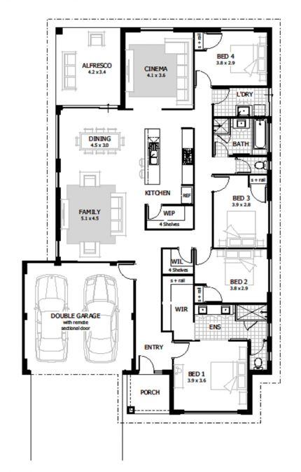Knightley Floor Plan
