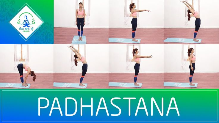 Shilpa Shetty | Padhastana | The Art Of Balance Pada means 'foot' and Hasta refers to the 'hand'. Therefore, Padahasta asana means the 'hand to foot pose'.