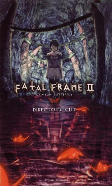 Fatal Frame 2 crimson butterfly Director's cut poster