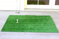 DIY golf mat