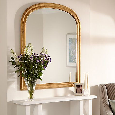 Buy John Lewis Overmantle Mirror, 120 x 105cm Online at johnlewis.com