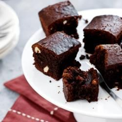 This small batch of brownies is made in the Airfryer to create a perfectly moist and rich slice. Walnuts or hazelnuts are added for that spe...