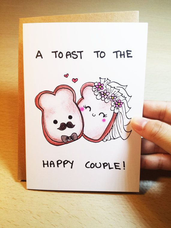 Funny Wedding Card Funny Congratulations Card Wedding