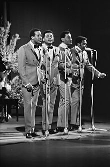 Four Tops-- are an American vocal quartet from Detroit, Michigan who helped to define the city's Motown sound of the 1960s. The group's repertoire has included soul music, R&B, disco, adult contemporary, doo-wop, jazz, and show tunes.