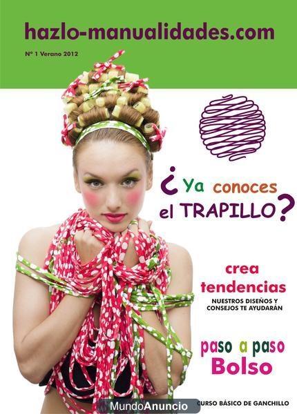 Trapillo revista - BadajozMagazine, Nuestra Consejos, Os Ofrecemo, Nuestra Revista, Nuestra Ideas, Ofrecemo Nuestra, Magazine, Hazlo Manualidades, De Hazlo