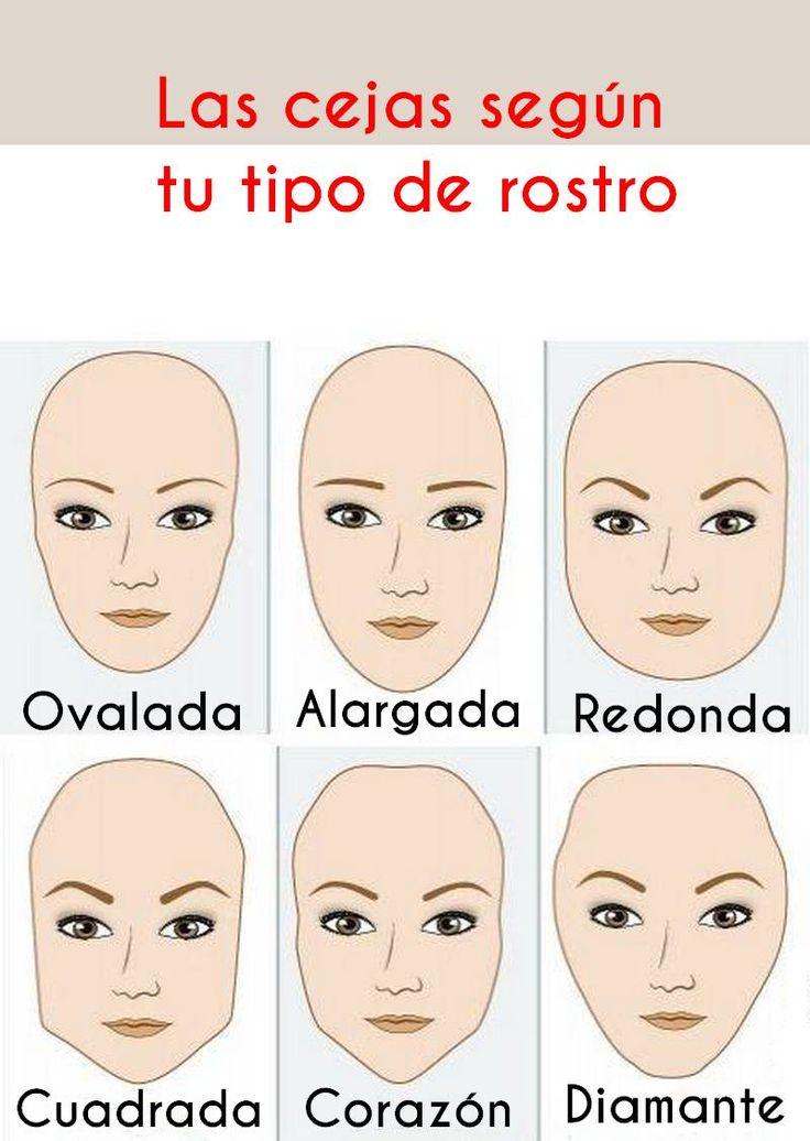 Como depilar las cejas de acuerdo al tipo de ojos maquillaje - Tipos De Cejas
