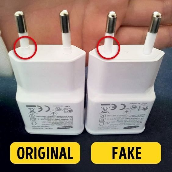 6 Tips To Help You Recognize Fake Chargers