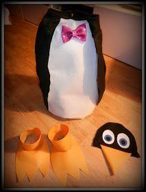 Que hacer con los pekes: Carnaval en el Polo (Disfraz de pingüino)