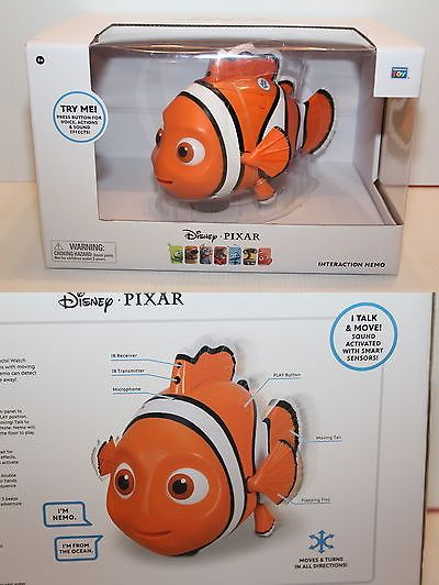 Finding Nemo 50310: Disney Pixar Interaction Nemo Voice Actions Sound Effects New -> BUY IT NOW ONLY: $55 on eBay!