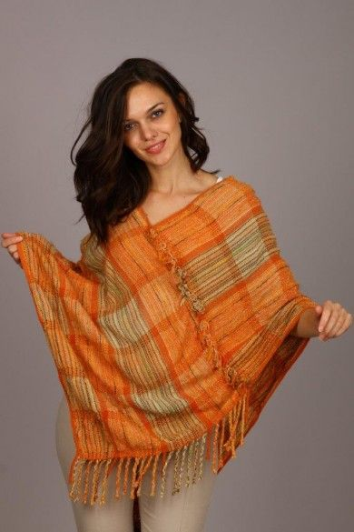 Izvorje - handweaving - poncho