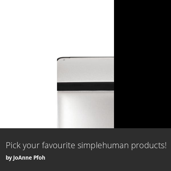 Check out my simplehuman look book from @homeoutfitters! #athomeinsiders