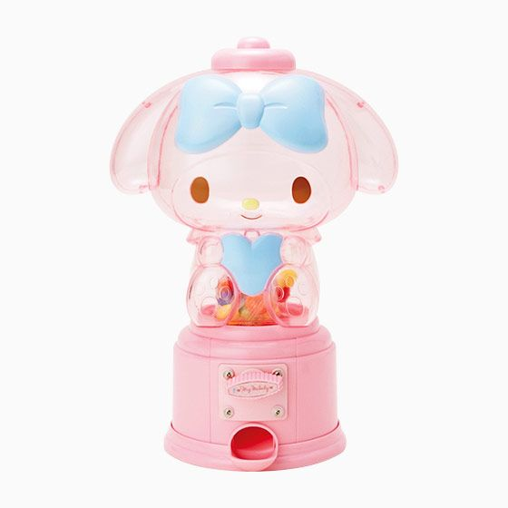 My Melody candy dispenser (●´ω`●) サンリオのグッズ「マイメロディ ガムボールマシン」をご覧ください。