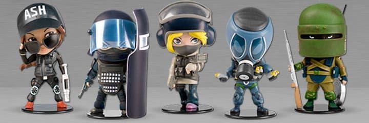 Rainbow Six Siege Chibi Figurines Collectibles | pc | Tom