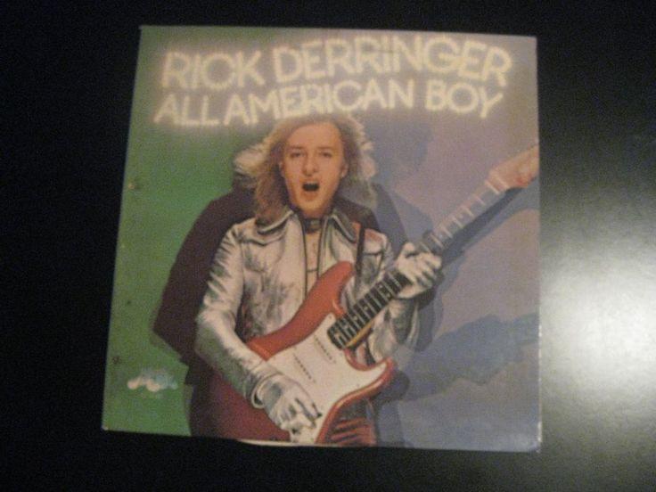 "1973 CBS Rick Derringer All American Boy 12"" LP KZ 32481 Pretty Good Used Record"