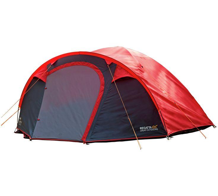 Buy Regatta Kivu 4 Man Dome Tent - Pepper at Argos.co.uk  sc 1 st  Pinterest & Best 25+ Dome tent ideas on Pinterest | Tent camping Ozark ...