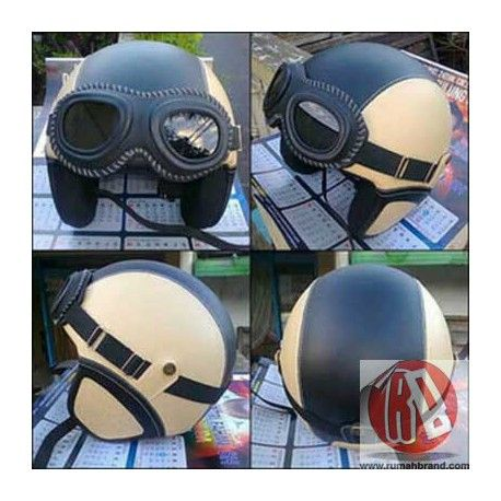 Helm Classic (HC-13) @Rp. 195.000,-   http://rumahbrand.com/helm-kustom/852-helm-classic.html