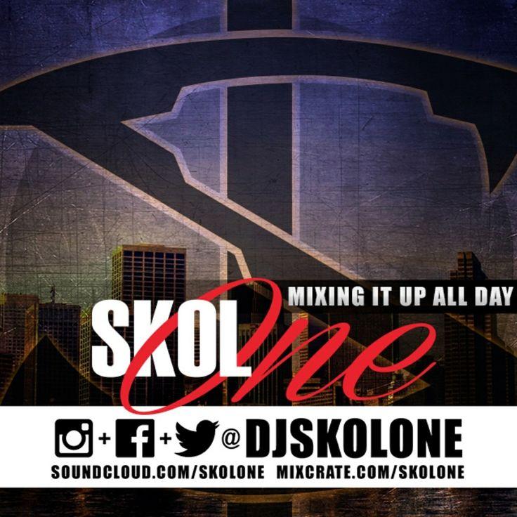La puente DJ Skol One logo design
