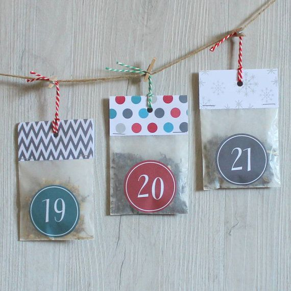 Christmas Countdown Tea Advent CalendarTea by PostTea