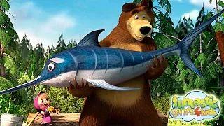 misha y el oso doblado al español por adriana - YouTube