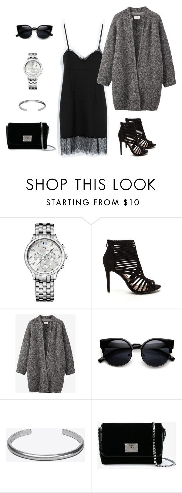 """total look"" by ya-irishka on Polyvore featuring мода, Tommy Hilfiger, Toast, Maison Margiela и Jimmy Choo"
