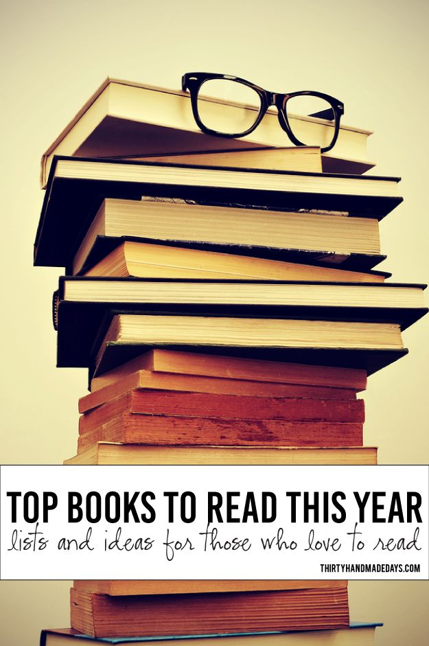 Top Books to Read This Year + 26 Books Challenge