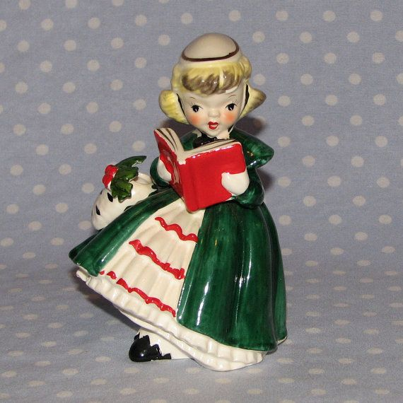 Ceramic Christmas Caroler Figurines Parma By Thepokeypoodle: 17 Best Images About Vintage Christmas Children On