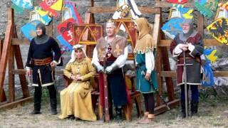 középkori várak és lovagok - YouTube