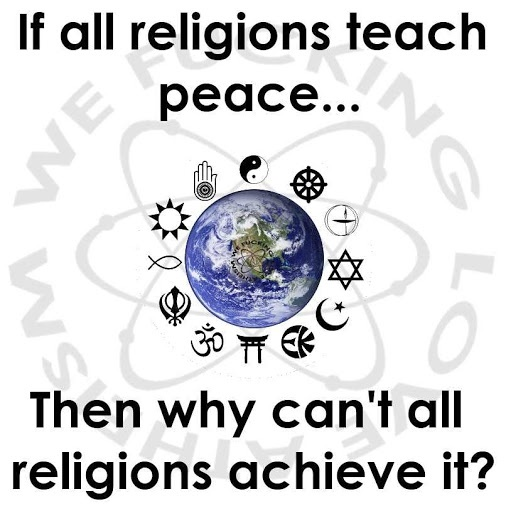 Best Religion Images On Pinterest Anti Religion Atheism And - Biggest religion on earth