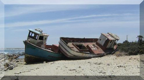 Port Nolloth, Northern Cape, South Africa.