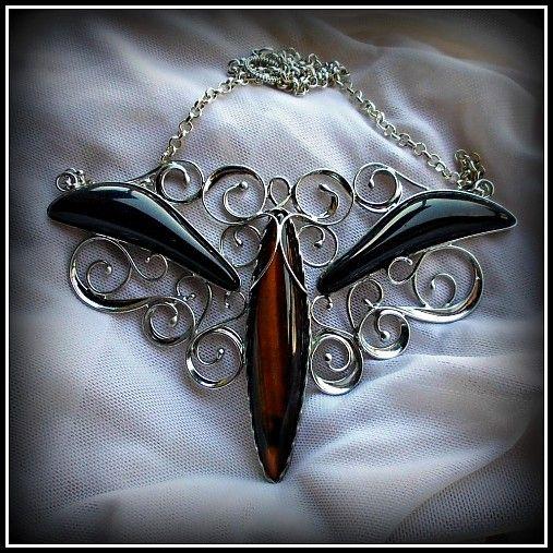 Tiger Eye necklace / SOLD /