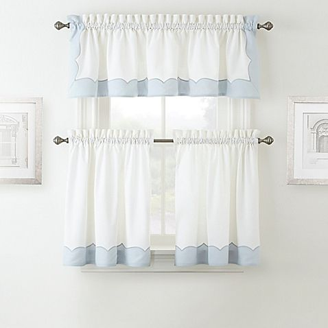 Waterford 174 Cassia Window Curtain Tier Pair And Valance