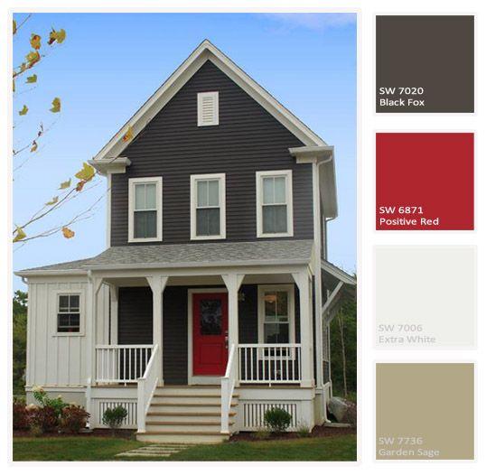 18 best House colors images on Pinterest Exterior house colors
