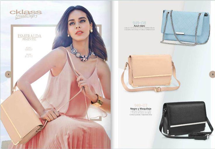 Bolsas de mujer para la temporada primavera verano 2015. Moda de Cklass