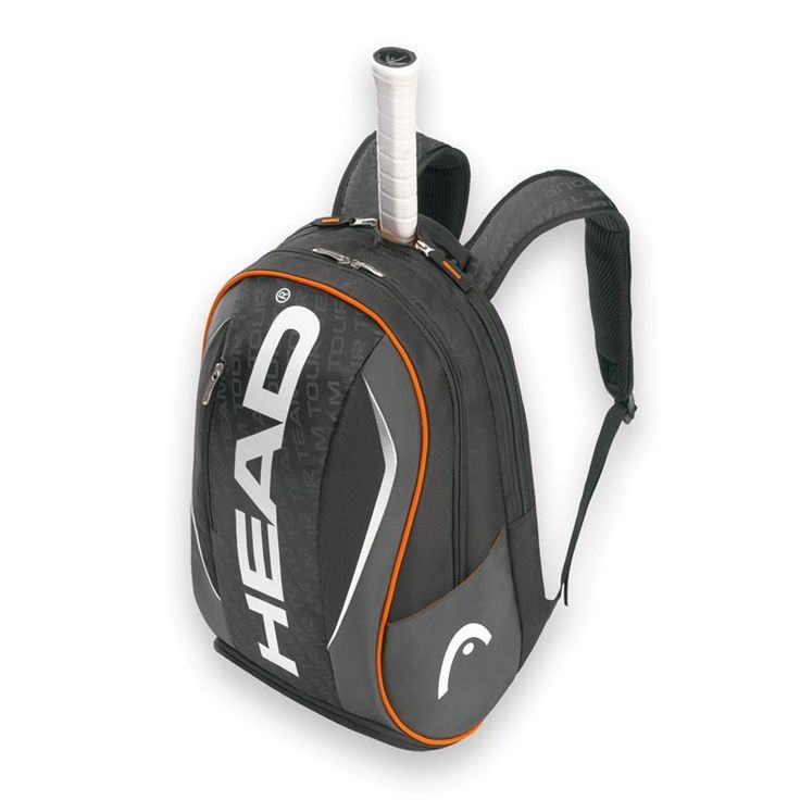 The Head Tour Team Backpack is one of the roomiest backpack available, and is great for the on-the-go tennis player that likes to keep their things close to them. This backpack features a large main compartment as well as a separate racquet compartment that fits 1-2 racquets and has auto-stop zippers keeping your racquets safe